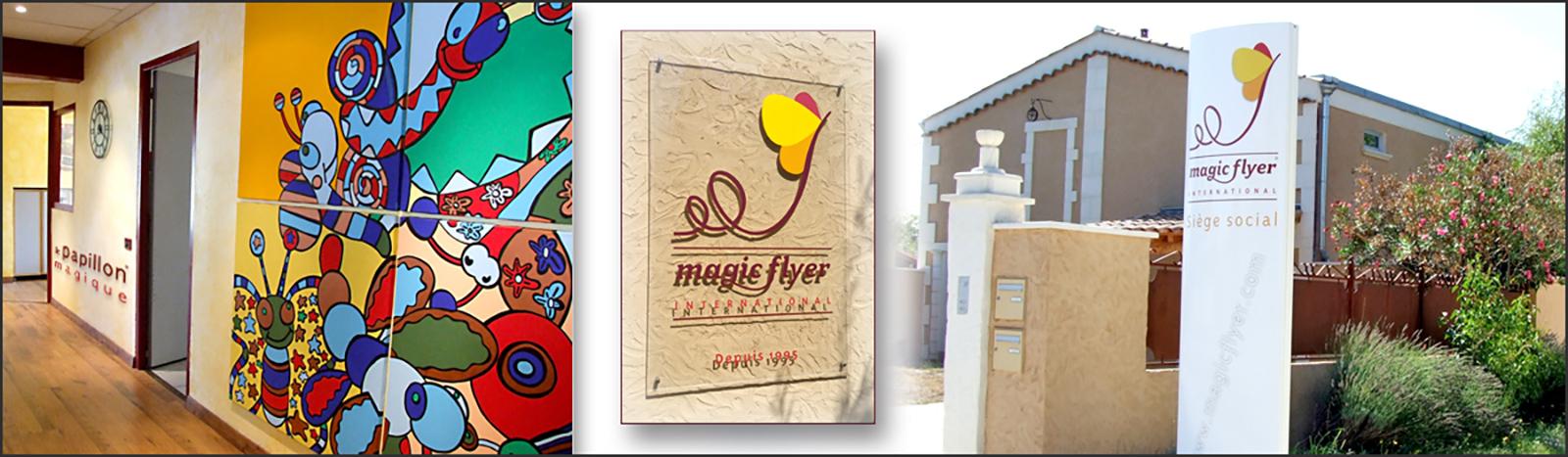 Magic Flyer International, Magic Butterfly